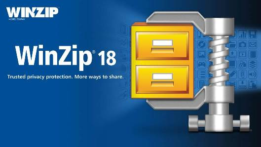 Winzip 18, the new version of the famous compressor