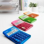 New and colorful Canon calculators