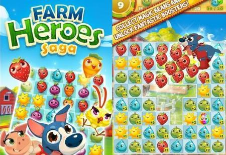 Farm Heroes: Popular Facebook game will come to mobile phones in 2014