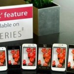 """LG include the dual touch lock in its new """"smartphones"""""""