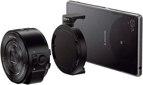 Tried QX10: Sony lens that turns the phone into a camera