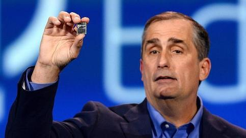 Intel Edison, a small computer of the size of SD card