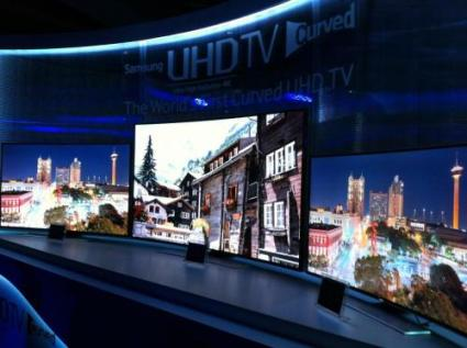 curved and flexible televisions