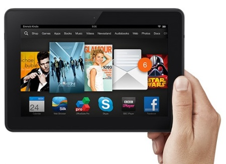 Kindle Fire HDX: Robust, intuitive and with a spectacular resolution