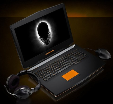 Alienware gaming notebooks