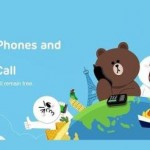 LINE is approaching to Skype and allows you to call landlines and mobile