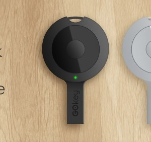 GOKey: A flash drive all in one which functions as keychain and locator