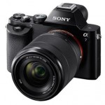 Sony introduced its Alpha a7 24.3 megapixel digital camera