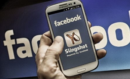 Facebook launches Slingshot