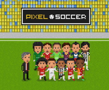 Pixel Soccer, a return to the old 8-bit football video games