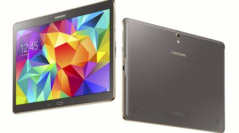 Samsung launches Galaxy Tab S to compete with Apple iPad