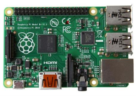 The Raspberry Pi microcomputer is updated with a new model