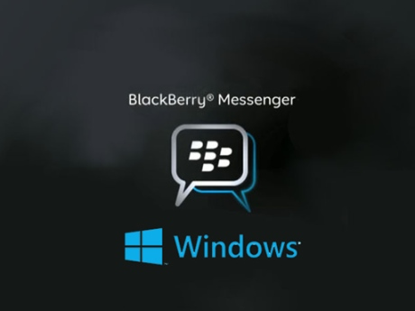 BlackBerry presented BBM application for Windows Phone