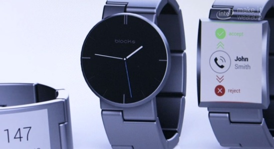 Blocks, the first modular smart watch
