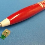 Develop a chip to be recharge with ultrasound