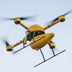 DHL will test the first European air route for delivery of packages with drones