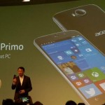Acer Jade Primo, the first mobile + PC with Windows 10