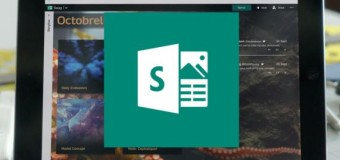 Sway, the alternative to Powerpoint, is now available