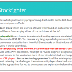Stockfighter, the game that challenges your programming knowledge