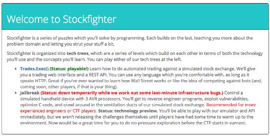 stockfighter