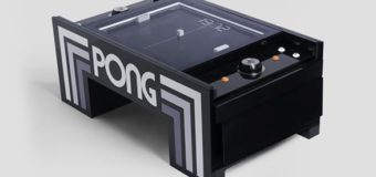This Pong table is all mechanical and is already reality