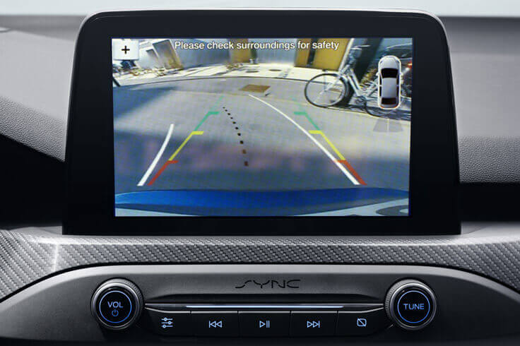 extended rear view camera